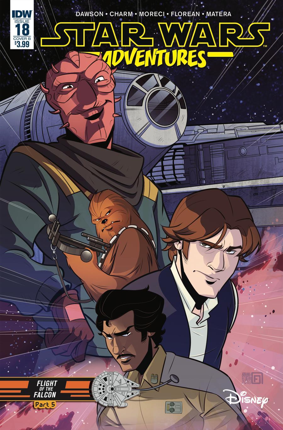 Star Wars Adventures #18 Cover B Variant Arianna Florean Cover