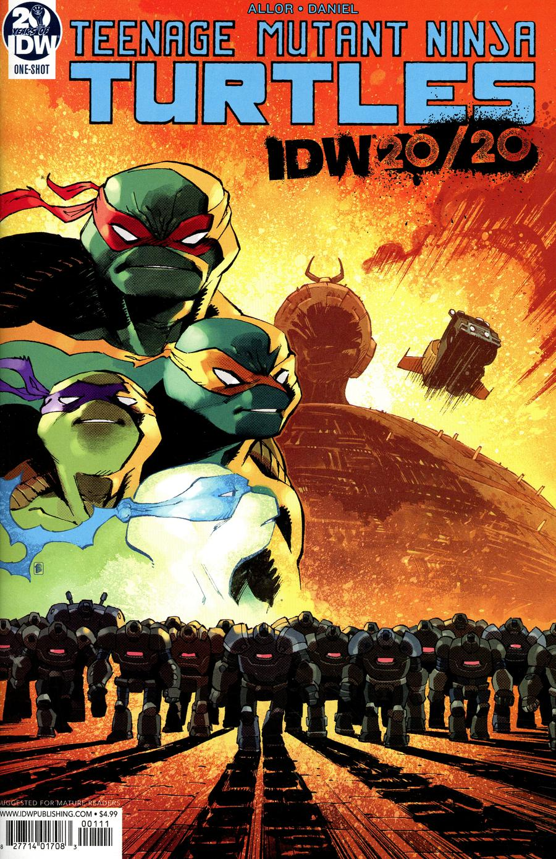 Teenage Mutant Ninja Turtles IDW 20/20 Cover A Regular Nelson Daniel Cover