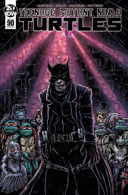 Teenage Mutant Ninja Turtles Vol 5 #90 Cover B Variant Kevin Eastman Cover
