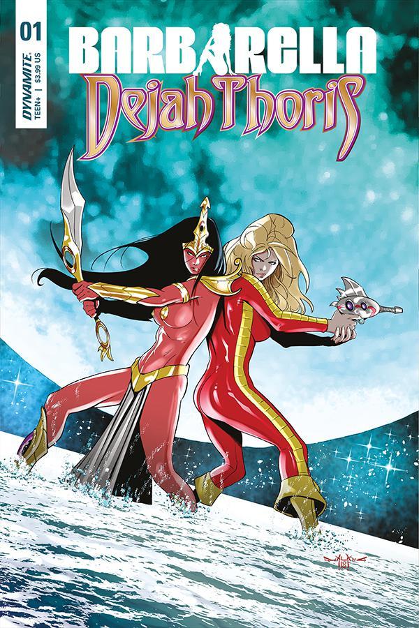 Barbarella Dejah Thoris #1 Cover C Variant Pasquale Qualano Cover