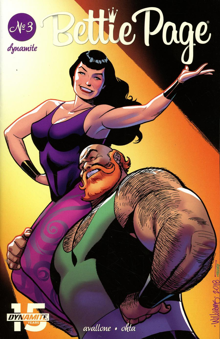 Bettie Page Vol 2 #3 Cover C Variant David Williams Cover