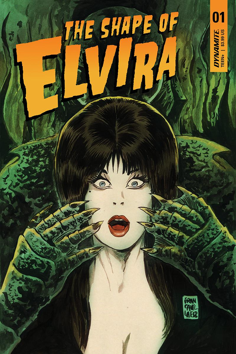 Elvira Shape Of Elvira #1 Cover A Regular Francesco Francavilla Cover