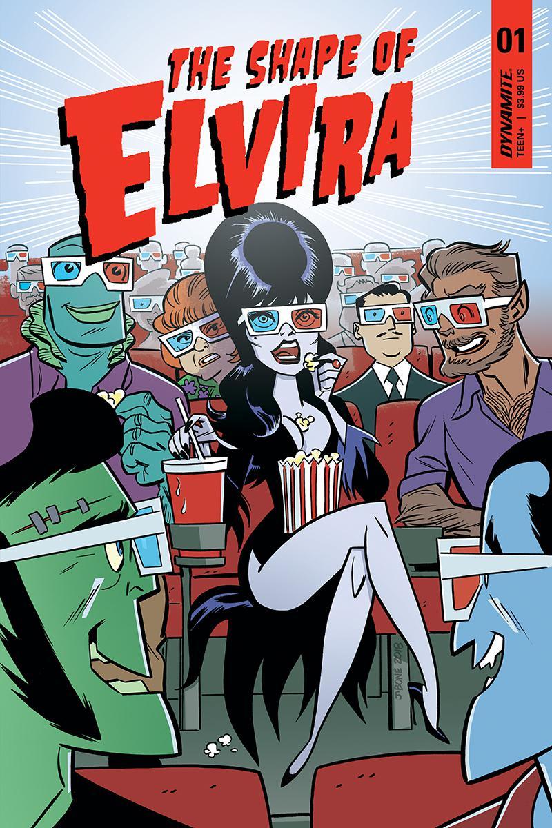 Elvira Shape Of Elvira #1 Cover B Variant J Bone Cover