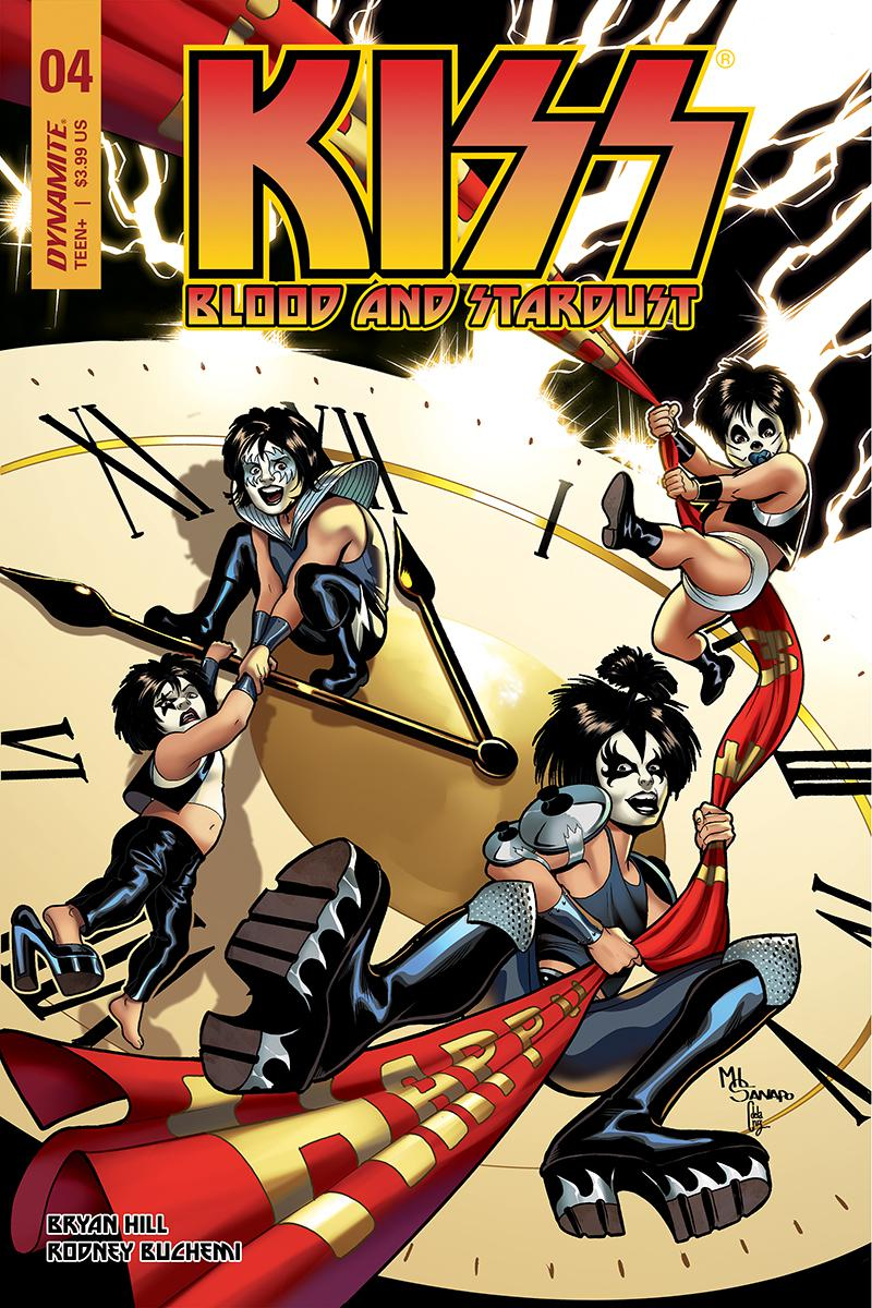 KISS Blood And Stardust #4 Cover C Variant Maria Sanapo Cover