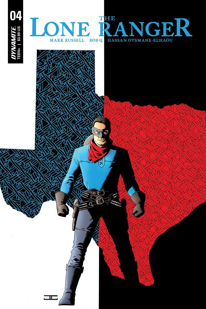 Lone Ranger Vol 6 #4 Cover A Regular John Cassaday Cover