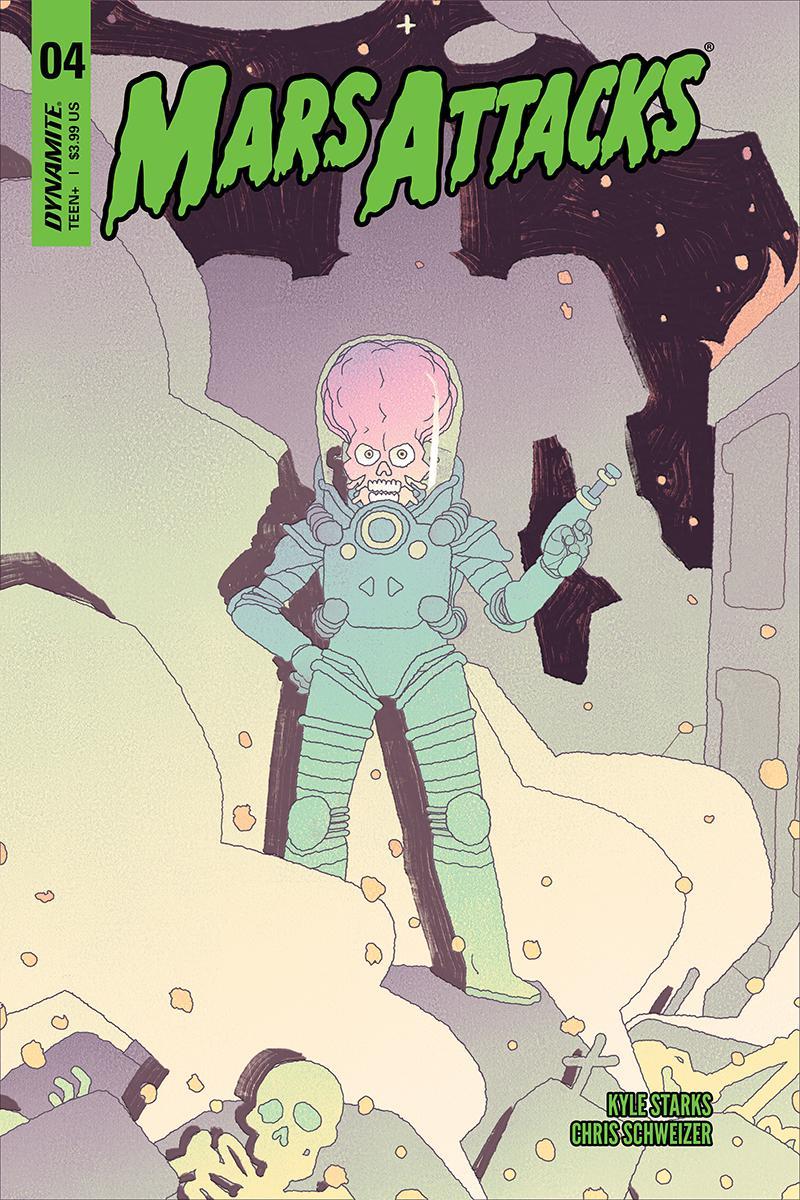 Mars Attacks Vol 4 #4 Cover A Regular Kyle Smart Cover