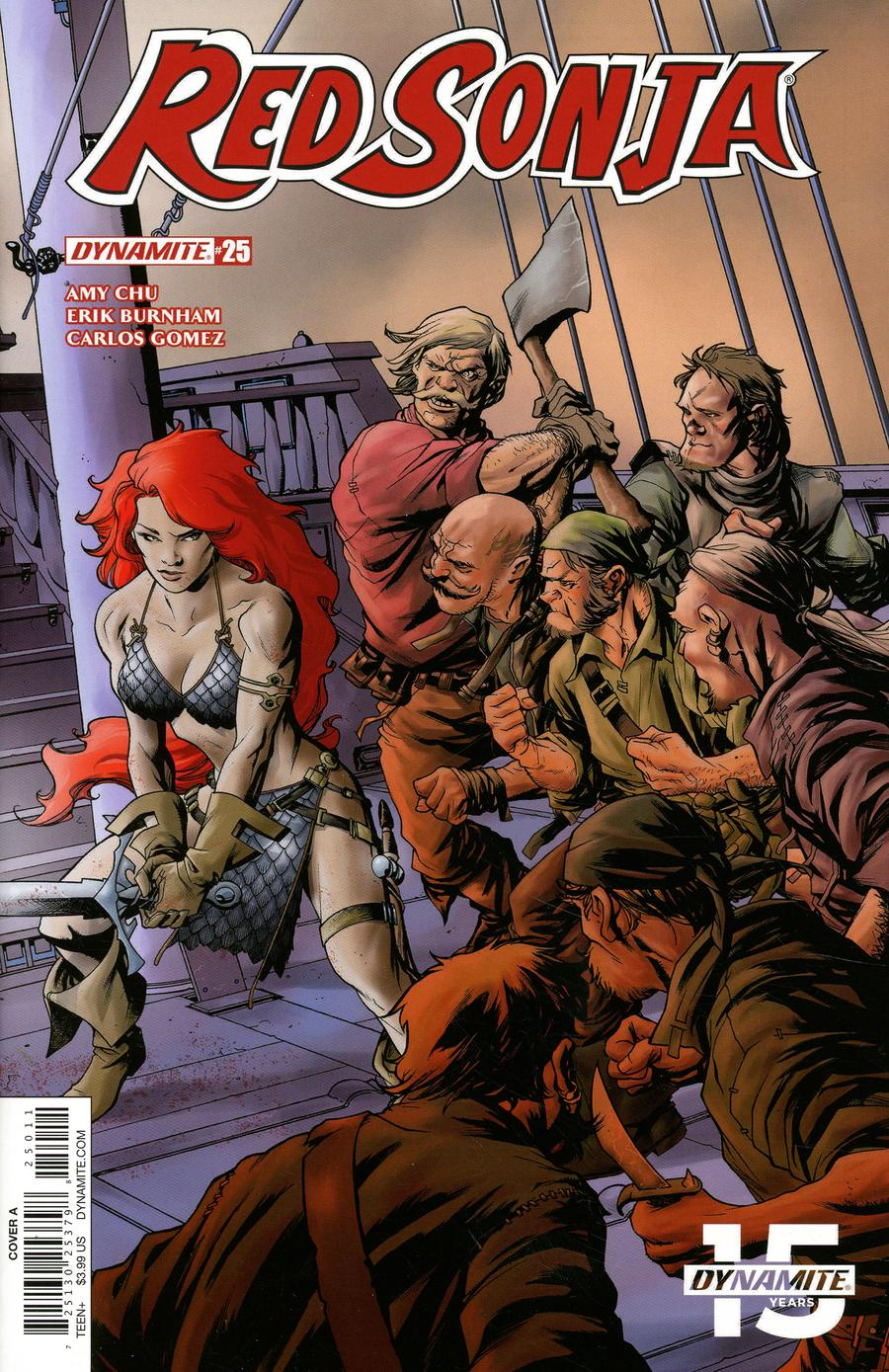 Red Sonja Vol 7 #25 Cover A Regular Mike McKone Cover