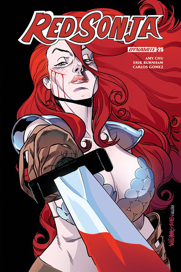 Red Sonja Vol 7 #25 Cover D Variant David Williams Cover