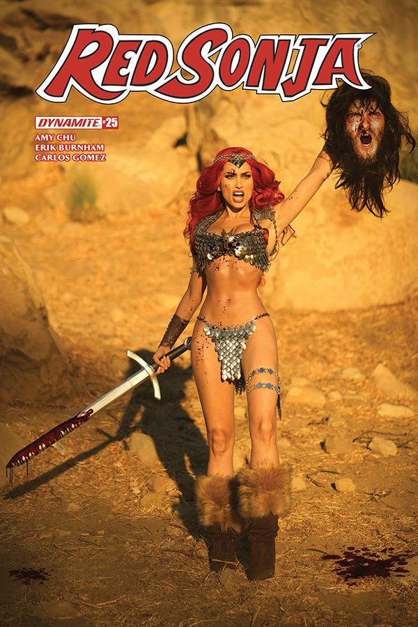 Red Sonja Vol 7 #25 Cover E Variant Cosplay Photo Subscription Cover