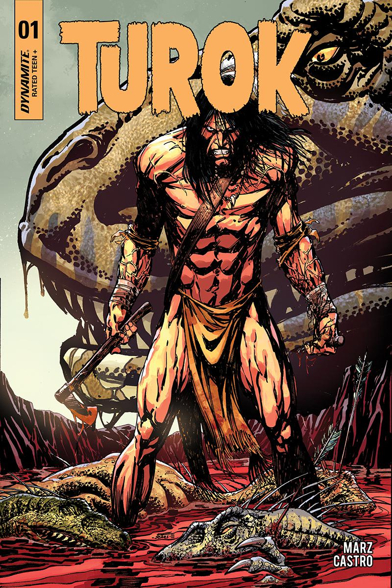 Turok Vol 3 #1 Cover A Regular Bart Sears Cover