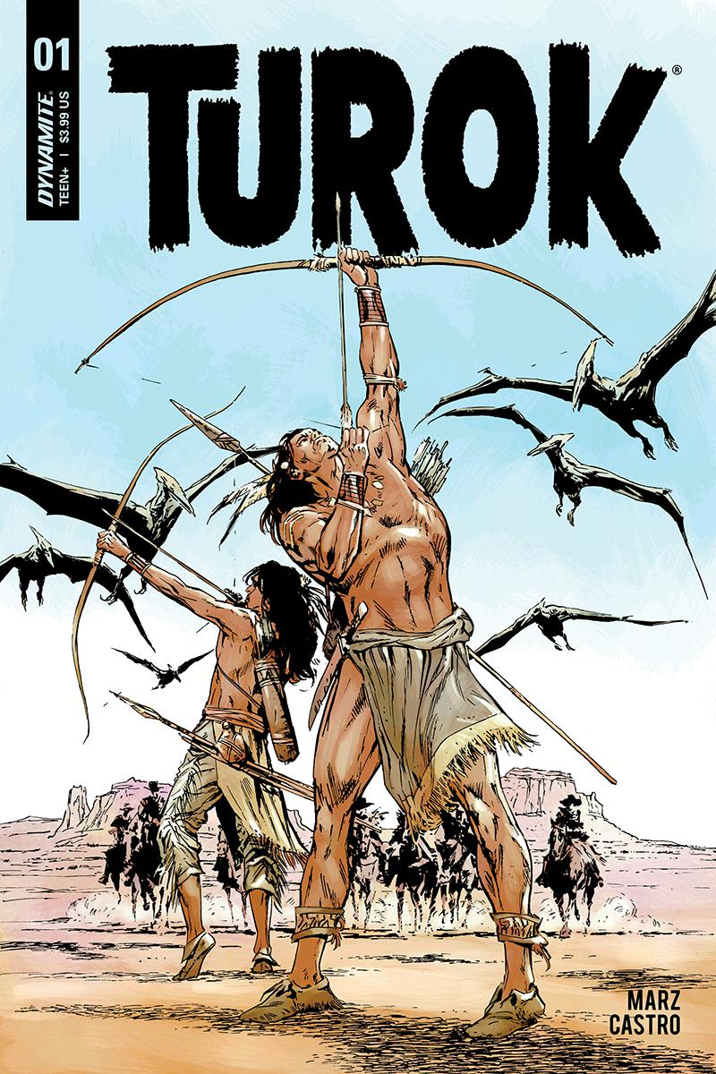 Turok Vol 3 #1 Cover B Variant Butch Guice Cover