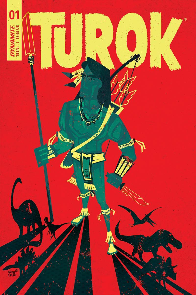 Turok Vol 3 #1 Cover C Variant Jeffrey Veregge Cover