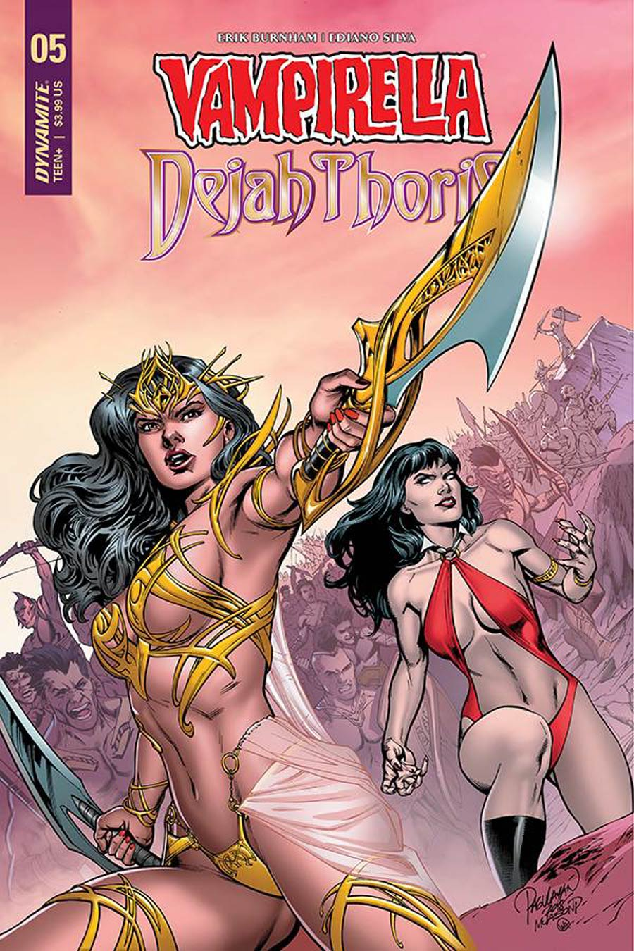 Vampirella Dejah Thoris #5 Cover A Regular Carlo Pagulayan Cover
