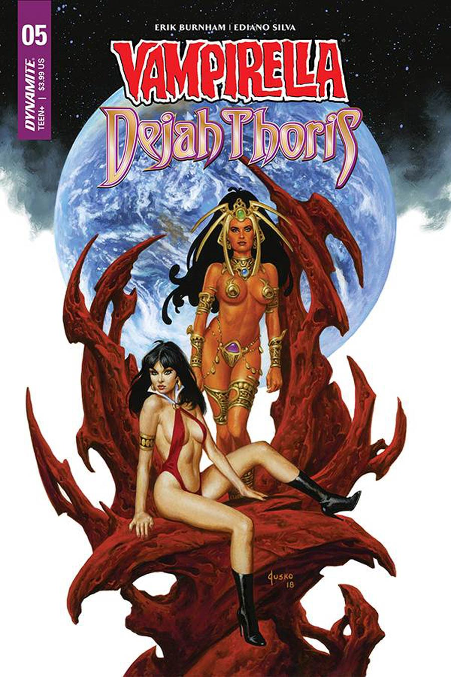 Vampirella Dejah Thoris #5 Cover D Variant Joe Jusko Cover