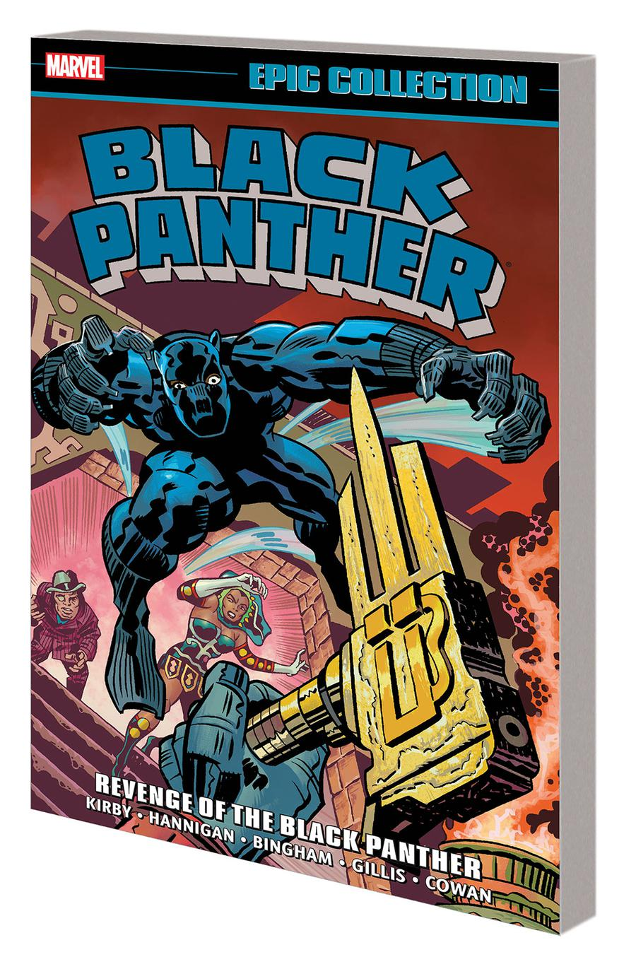 Black Panther Epic Collection Vol 2 Revenge Of The Black Panther TP