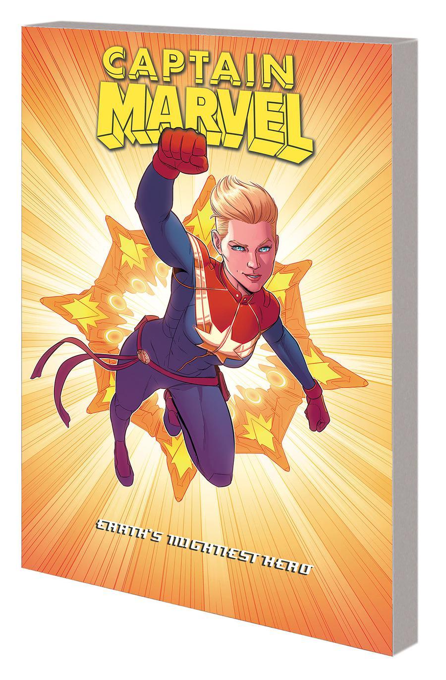 Captain Marvel Earths Mightiest Hero Vol 5 TP