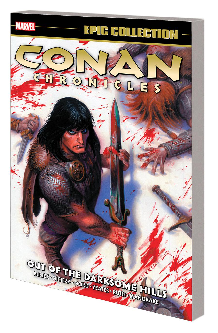 Conan Chronicles Epic Collection Vol 1 Out Of The Darksome Hills TP