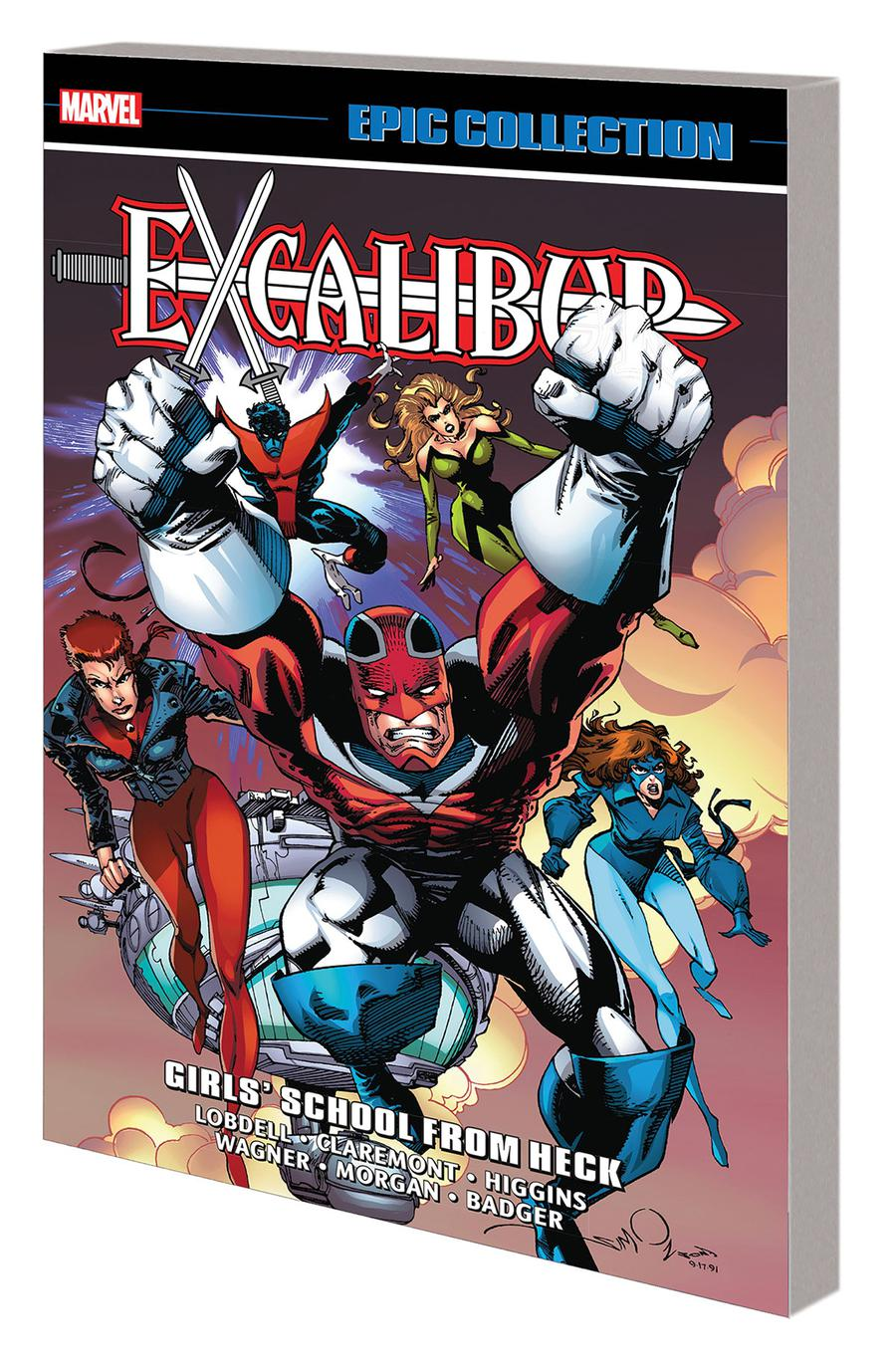 Excalibur Epic Collection Vol 3 Girls School From Heck TP