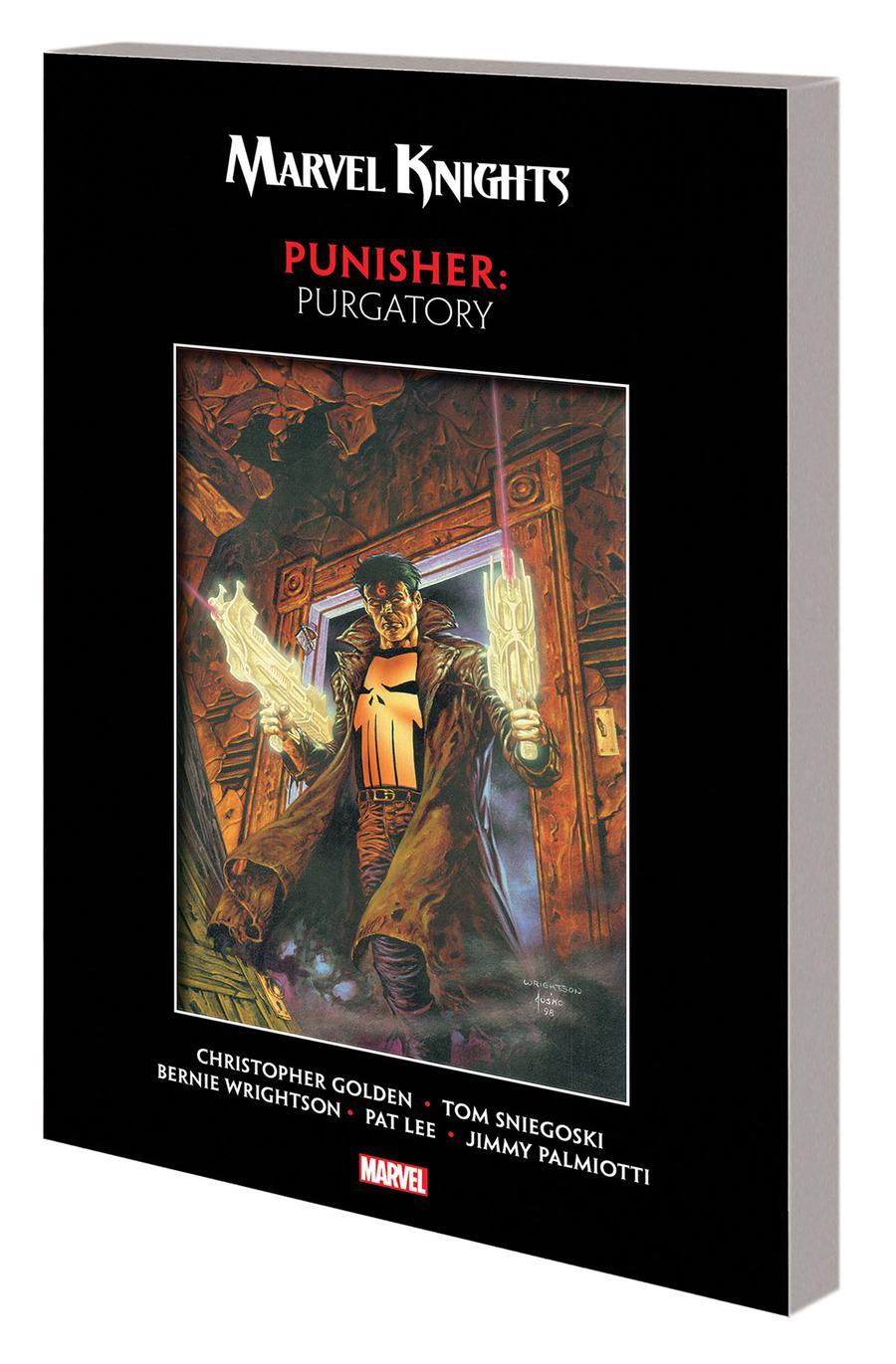 Marvel Knights Punisher By Golden Sniegoski & Wrightson Purgatory TP