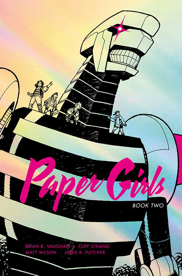 Paper Girls Deluxe Edition Vol 2 HC