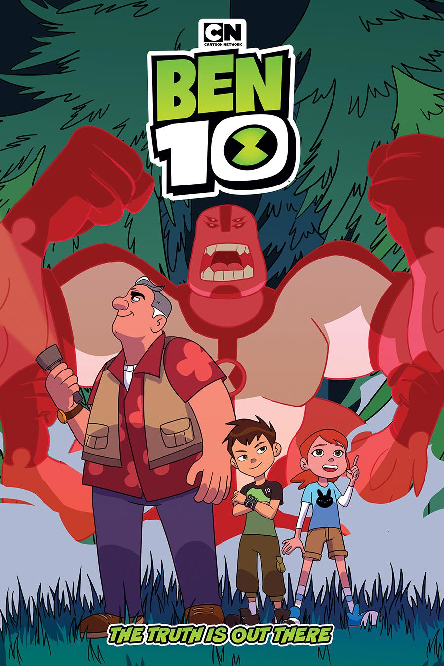 Ben 10 Original Graphic Novel Truth Is Out There TP