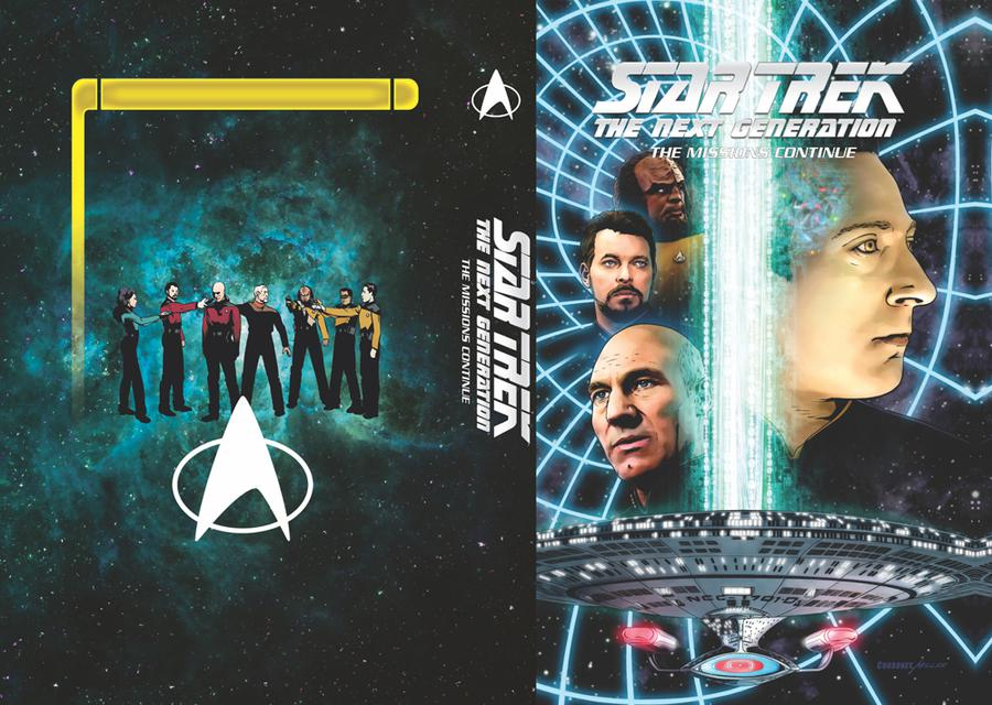 Star Trek The Next Generation Missions Continue HC