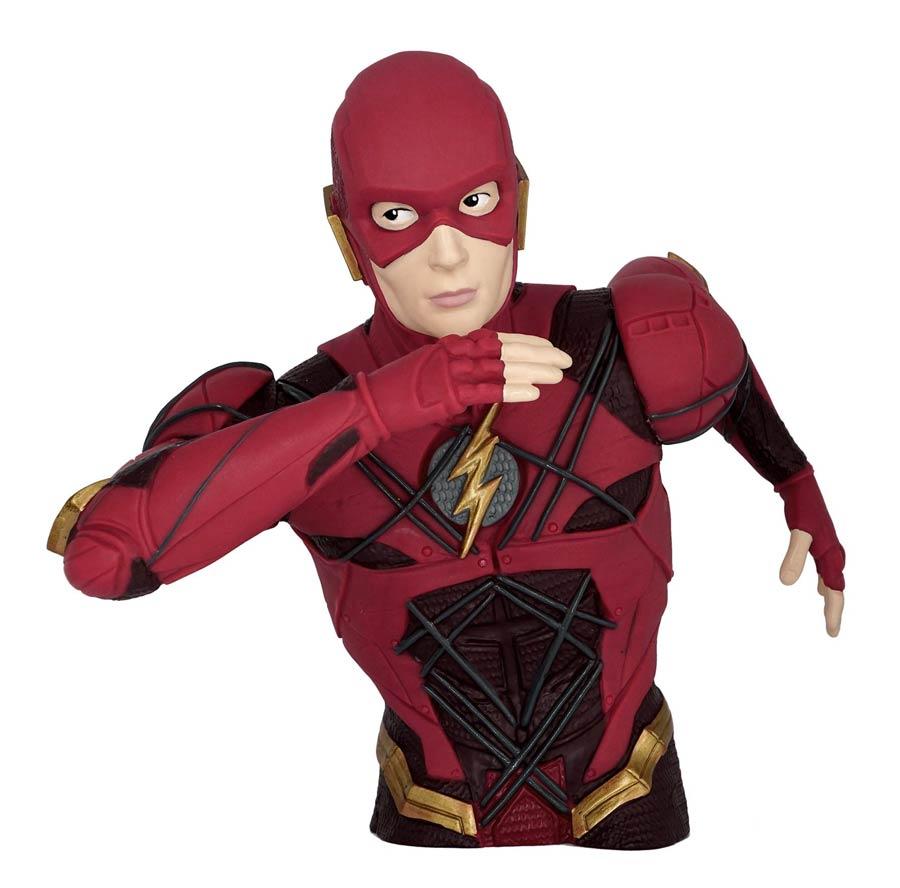 Justice League Movie PVC Bust Bank - Flash