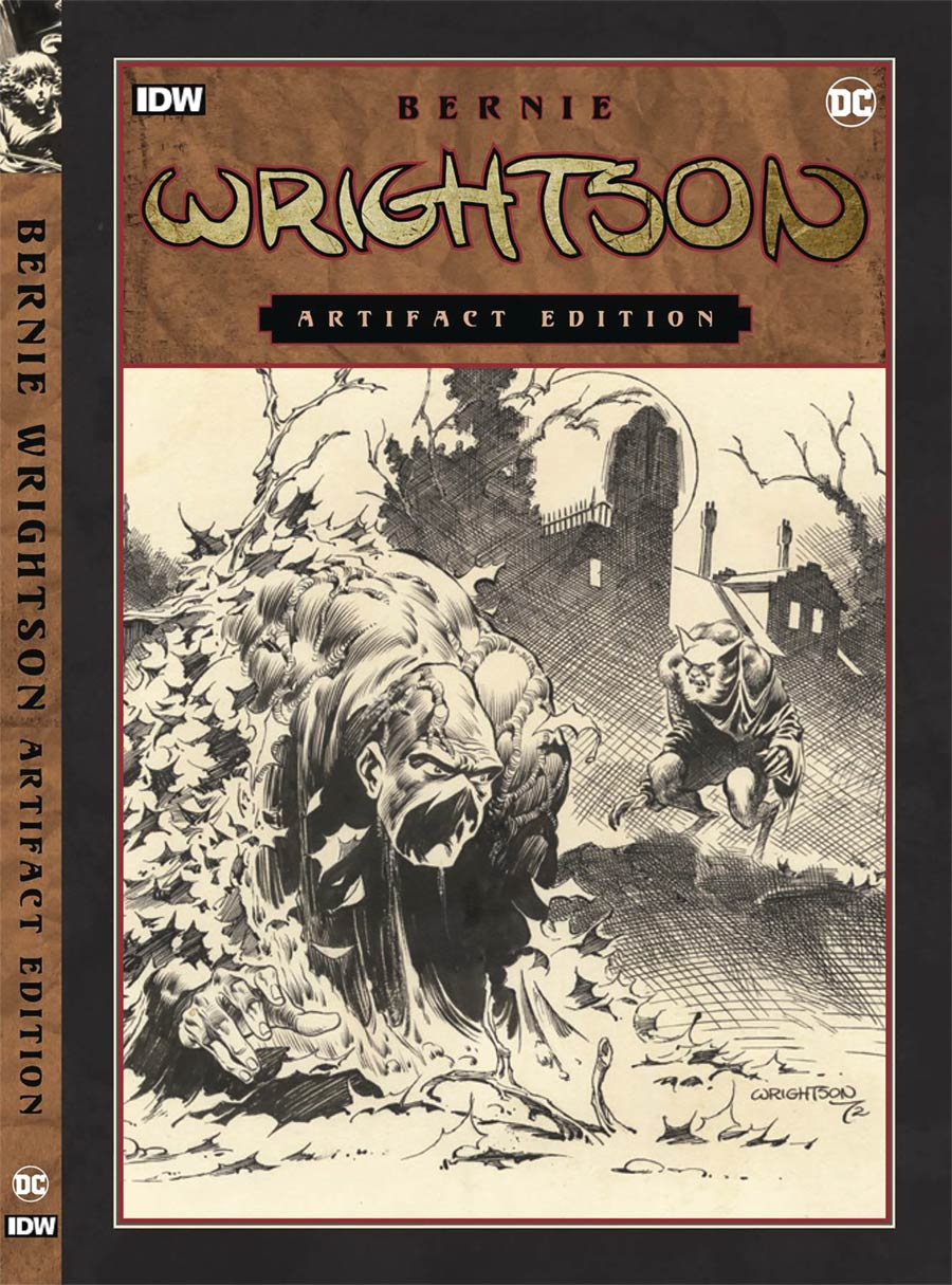 Bernie Wrightson Artifact Edition HC New Printing