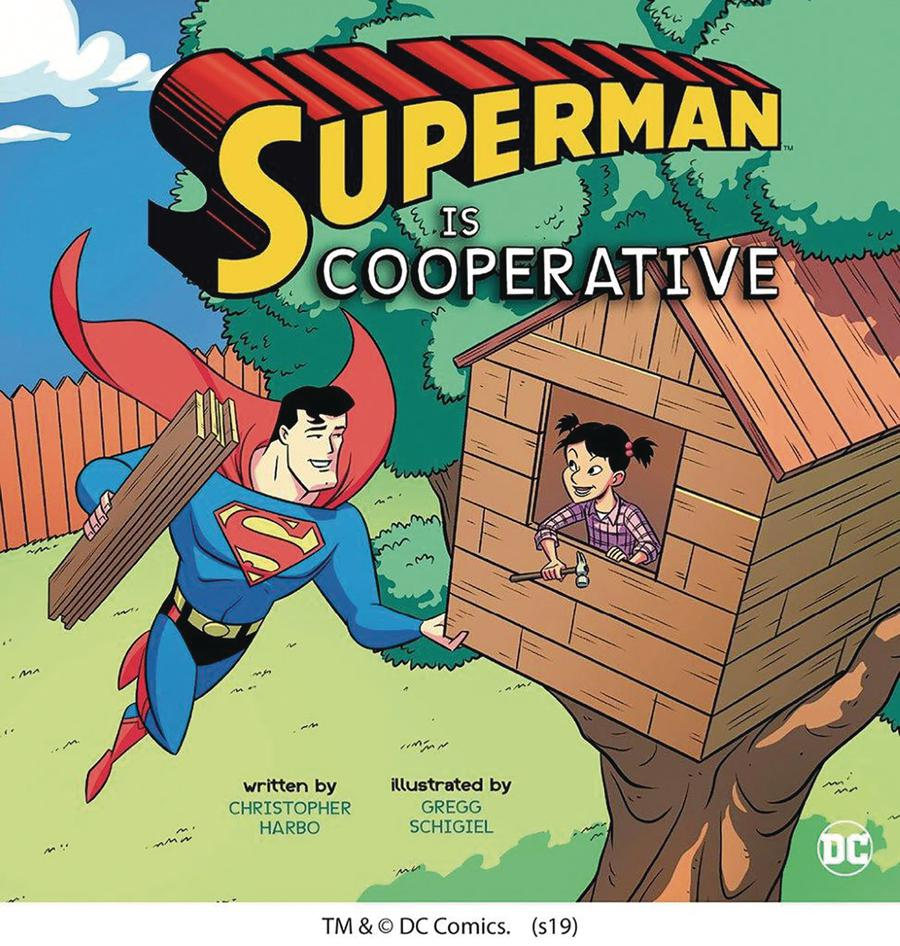 Superman Is Cooperative Picture Book TP