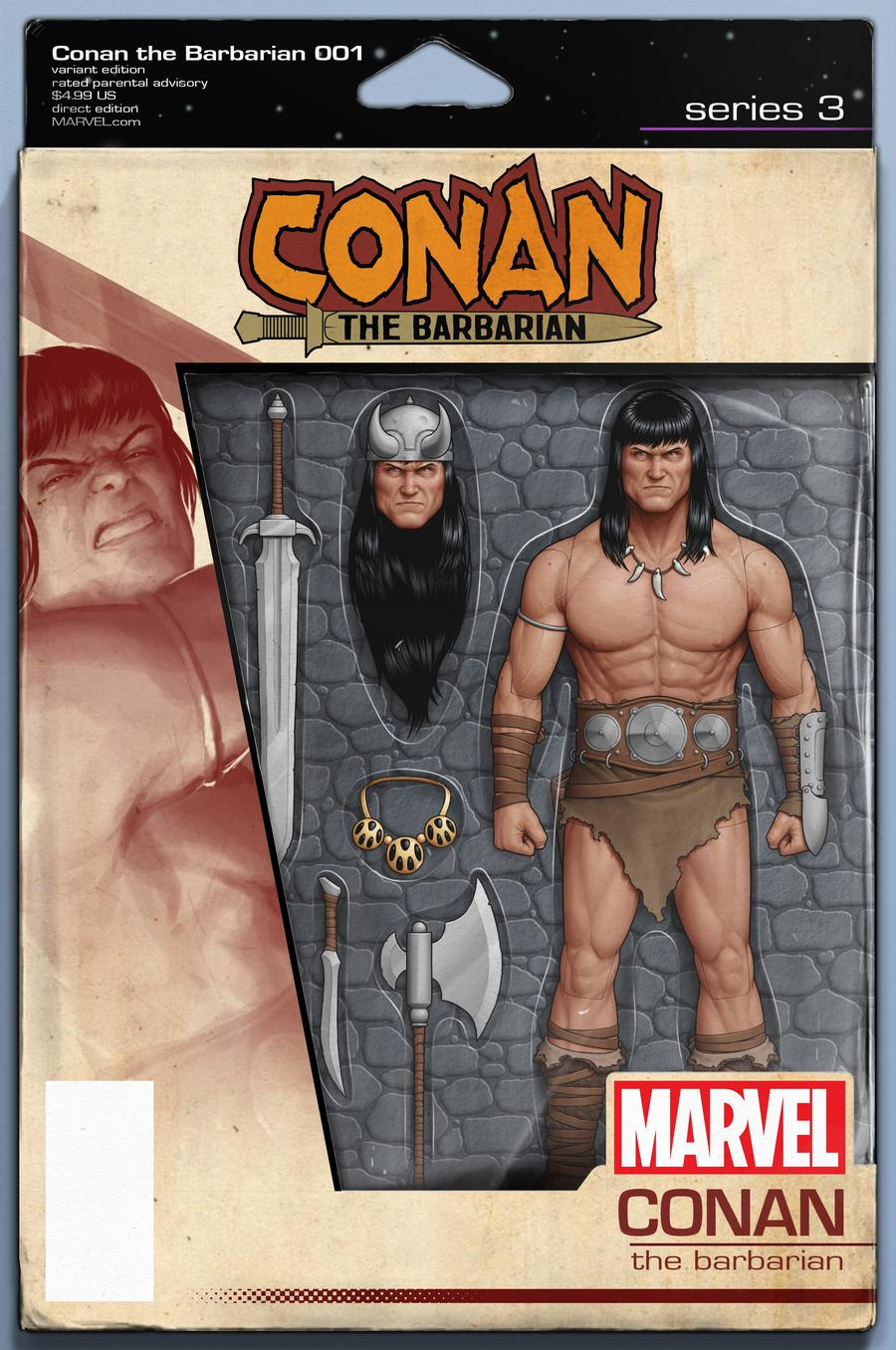 Conan The Barbarian Vol 4 #1 Cover F Variant John Tyler Christopher Action Figure Cover