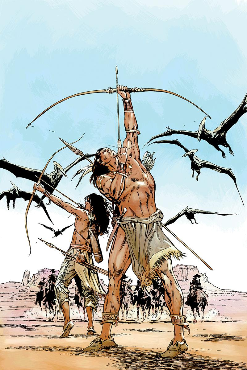 Turok Vol 3 #1 Cover G Incentive Butch Guice Virgin Cover