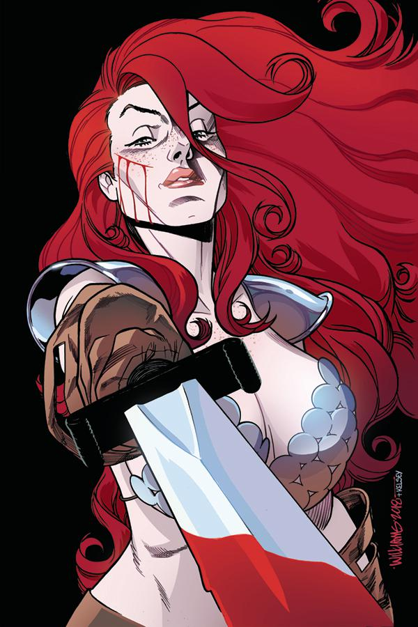 Red Sonja Vol 7 #25 Cover G Incentive David Williams Virgin Cover