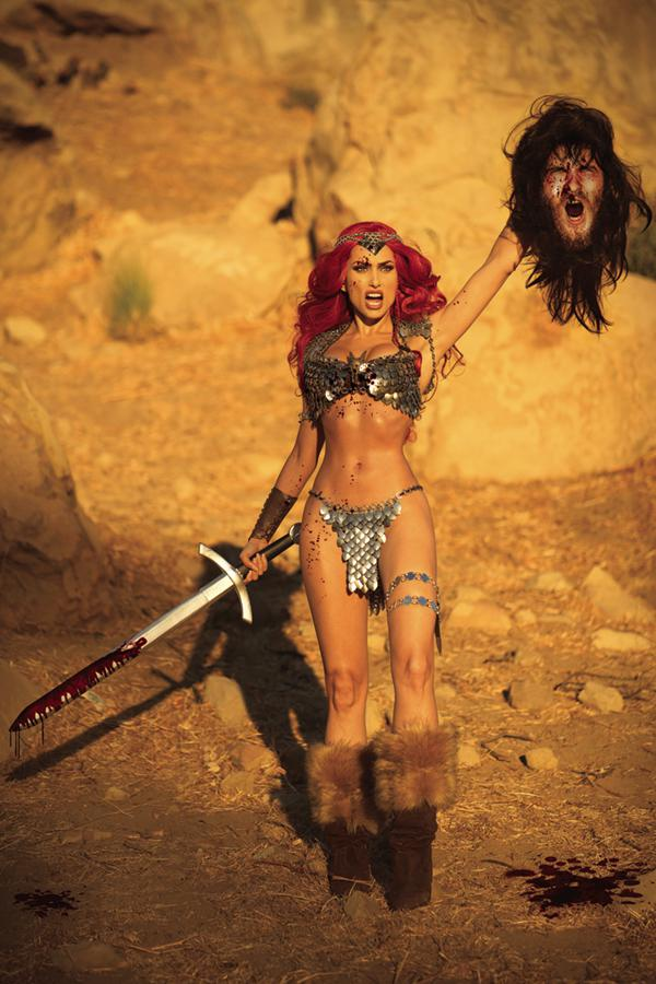Red Sonja Vol 7 #25 Cover I Incentive Cosplay Photo Subscription Virgin Cover