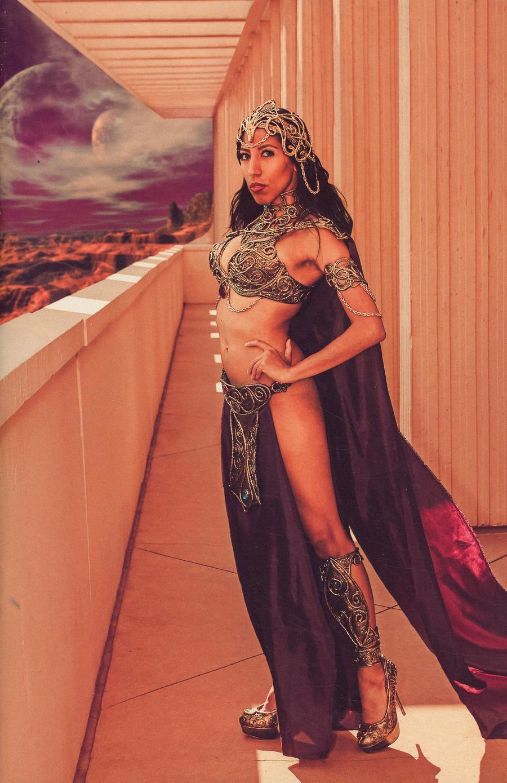 Vampirella Dejah Thoris #5 Cover J Incentive Dejah Thoris Cosplay Photo Virgin Cover