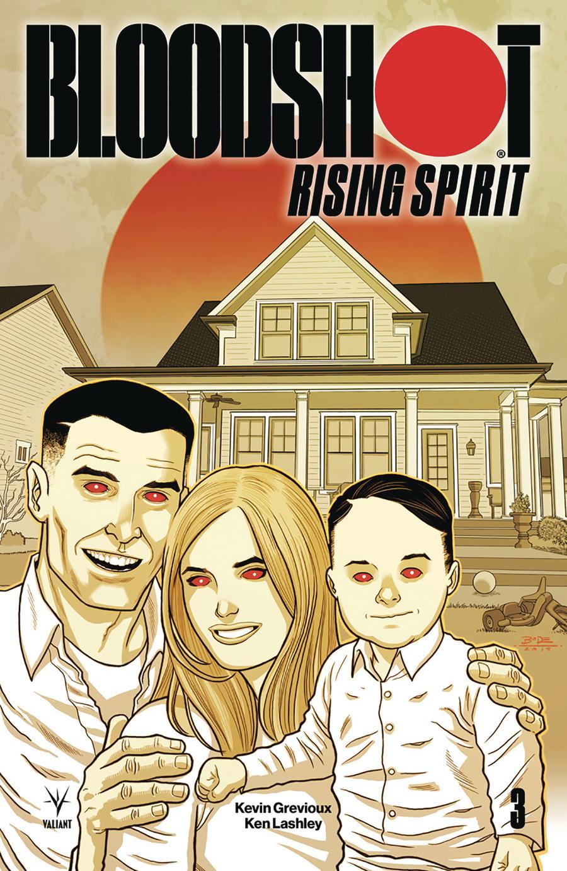 Bloodshot Rising Spirit #3 Cover D Incentive Ryan Bodenheim Variant Cover