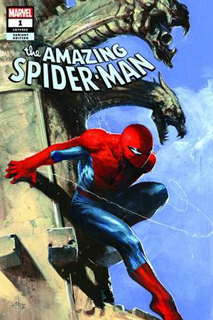 Amazing Spider-Man Vol 5 #1 Cover Z-M DF Comicxposure Exclusive Gabriele Dell Otto Variant Cover