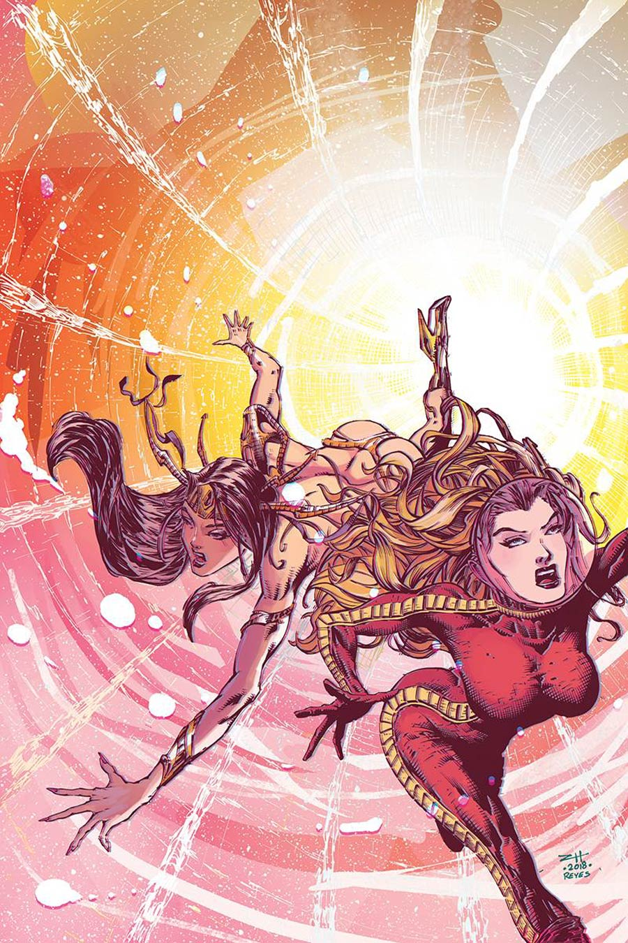 Barbarella Dejah Thoris #1 Cover M DF Exclusive Zach Hsieh Virgin Cover