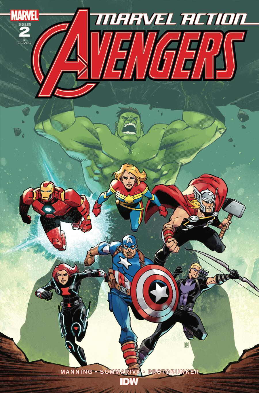 Marvel Action Avengers #2 Cover B Incentive Nelson Daniel Variant Cover