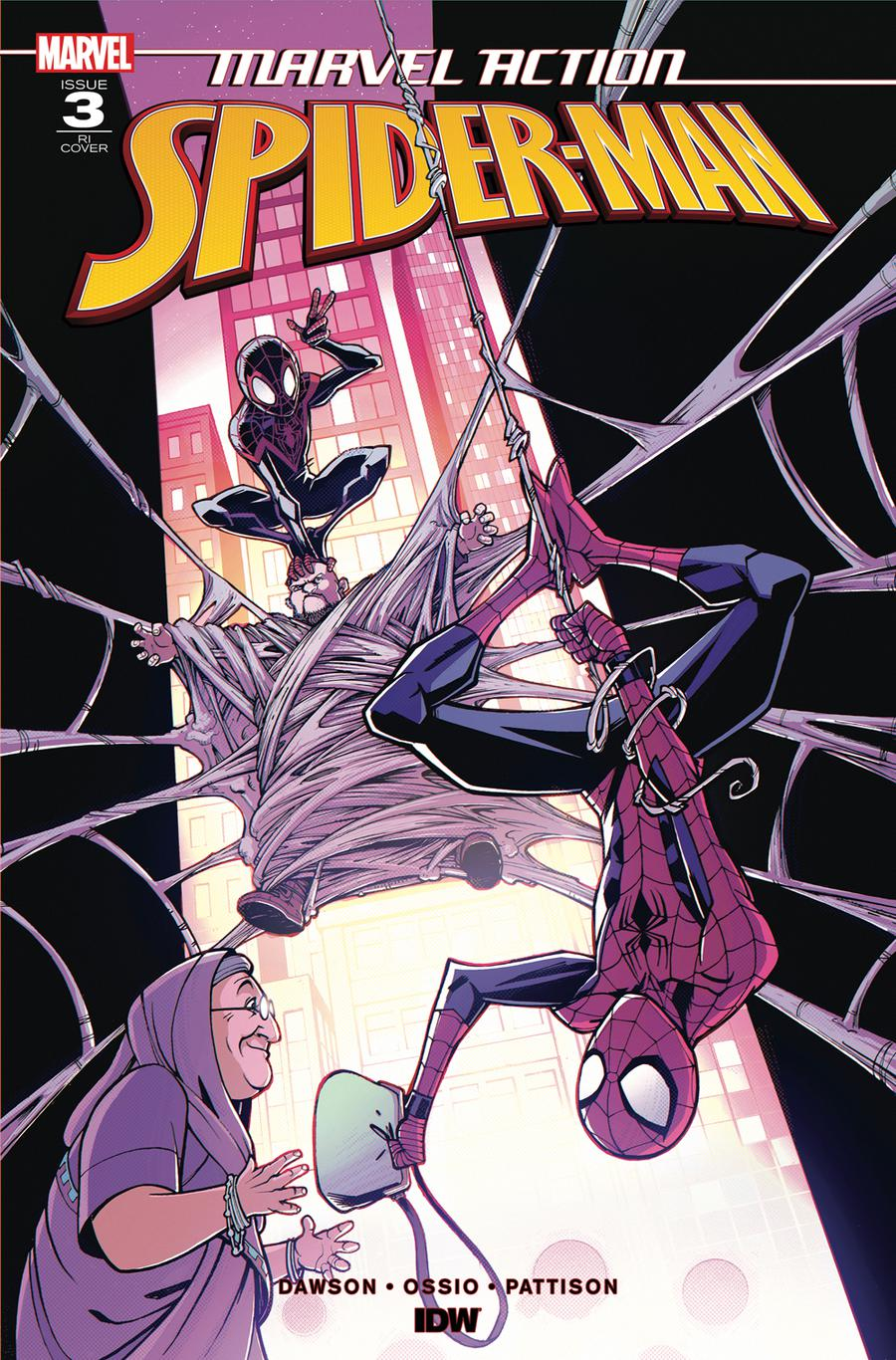 Marvel Action Spider-Man #3 Cover B Incentive Nick Roche Variant Cover