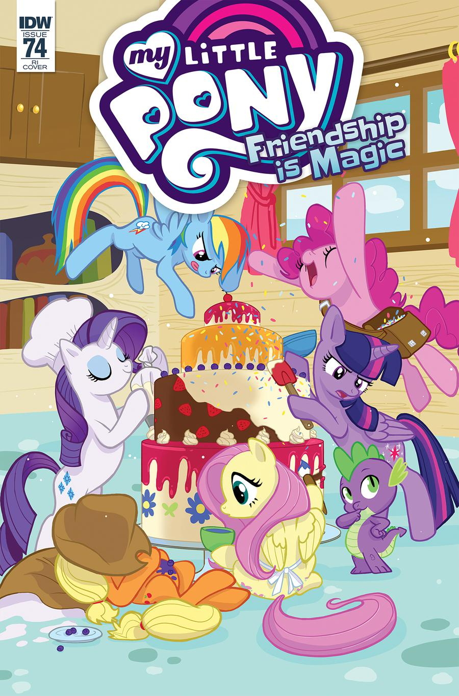 My Little Pony Friendship Is Magic #74 Cover C Incentive Lanna Souvanny Variant Cover