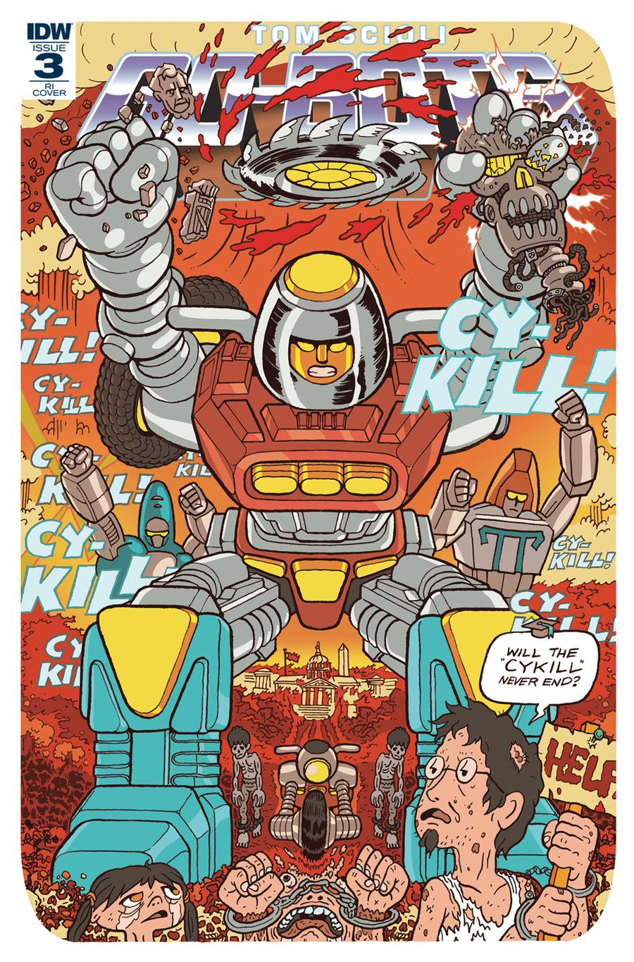 Go-Bots #3 Cover C Incentive Ulises Farinas Variant Cover