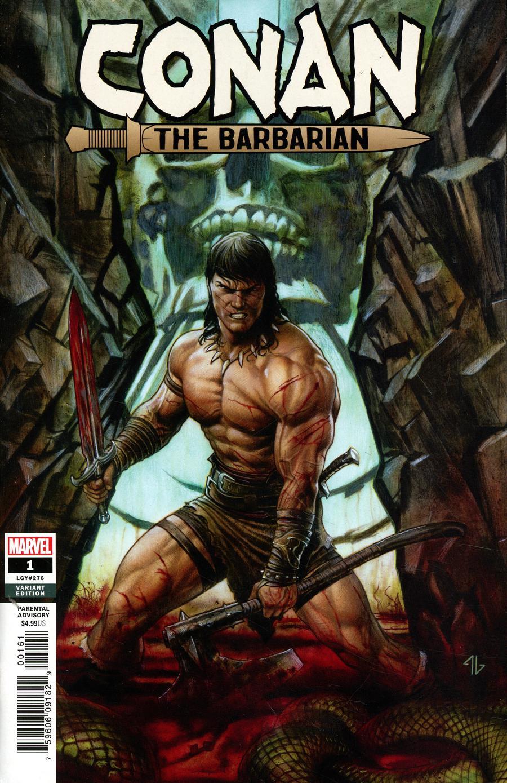 Conan The Barbarian Vol 4 #1 Cover L Incentive Adi Granov Variant Cover