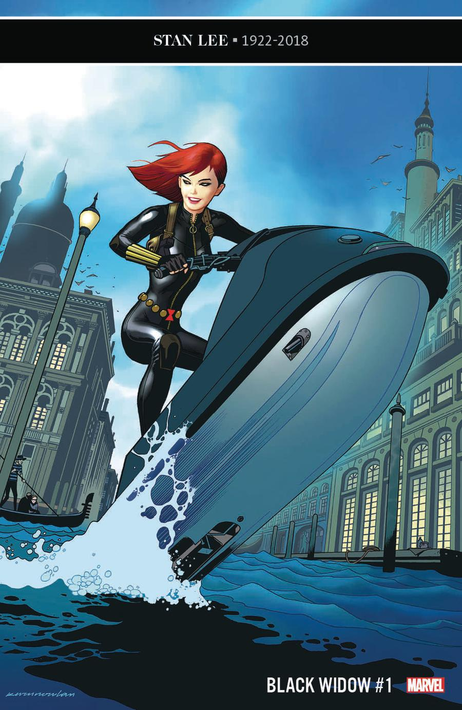 Black Widow Vol 7 #1 Cover C Incentive Kevin Nowlan Variant Cover