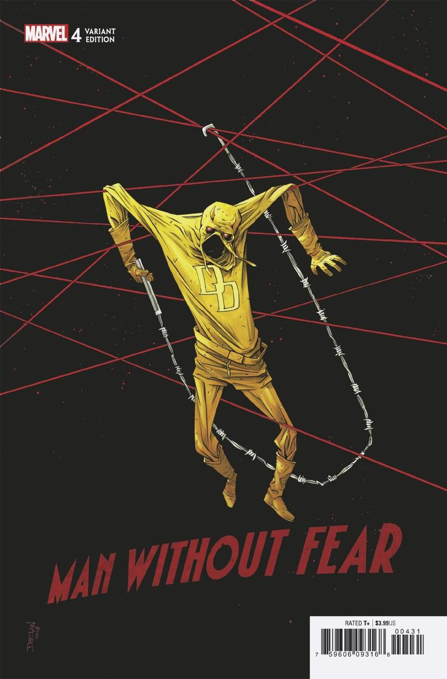Man Without Fear #4 Cover C Incentive Declan Shalvey Variant Cover