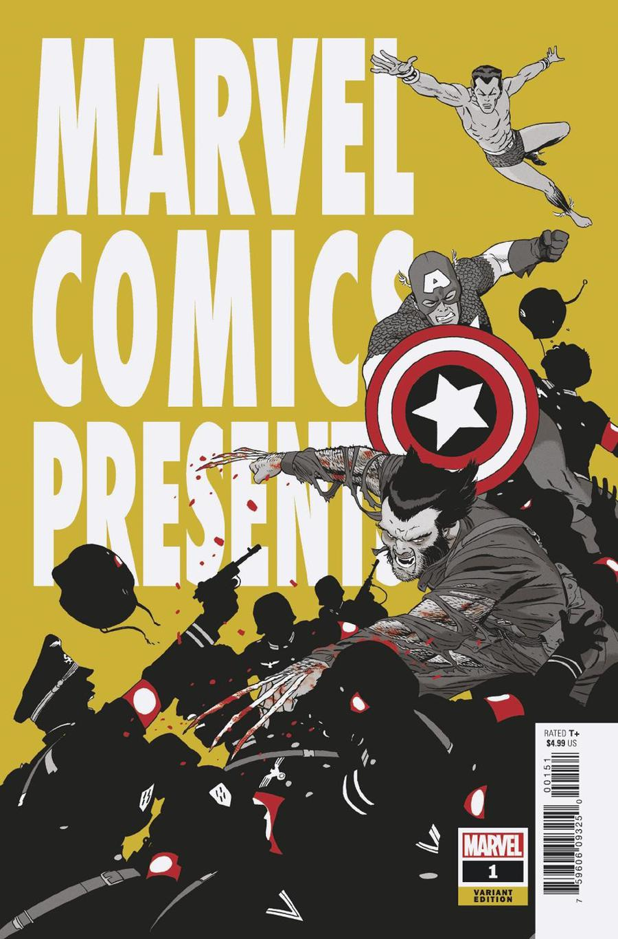 Marvel Comics Presents Vol 3 #1 Cover D Incentive Marcos Martin Variant Cover