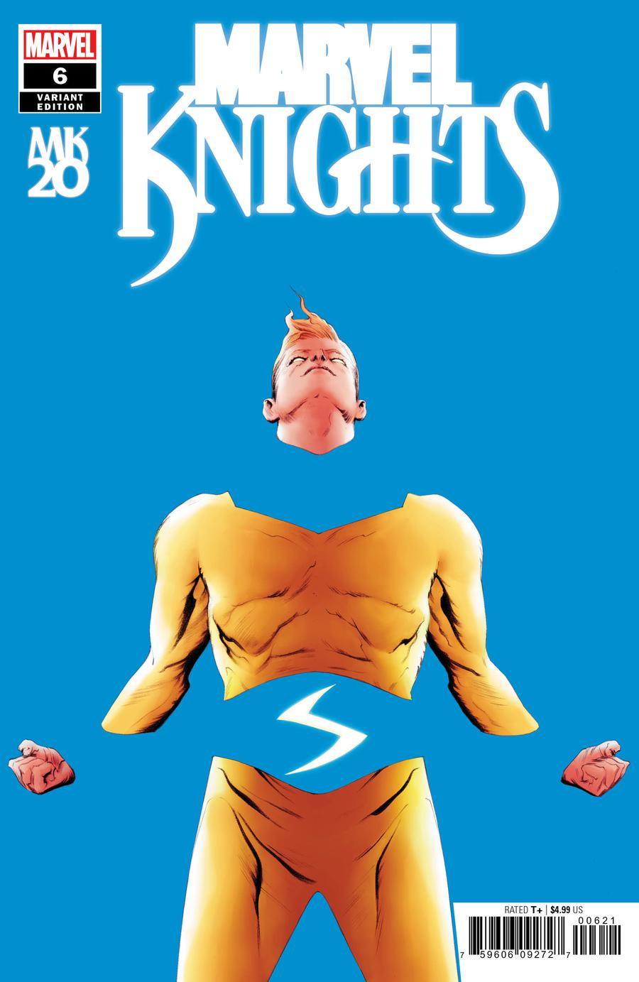 Marvel Knights 20th #6 Cover D Incentive Jae Lee Variant Cover