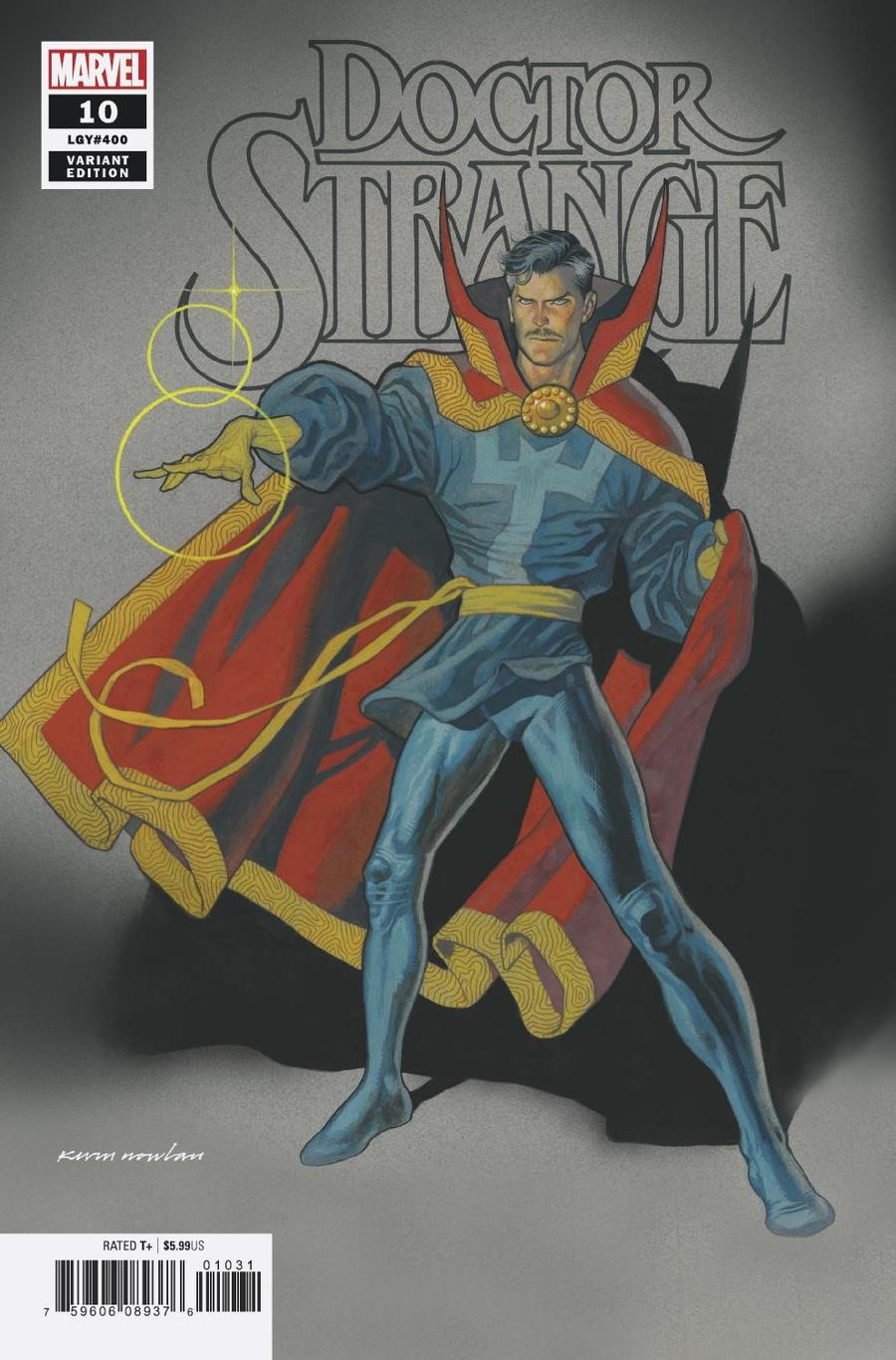 Doctor Strange Vol 5 #10 Cover E Incentive Kevin Nowlan Variant Cover
