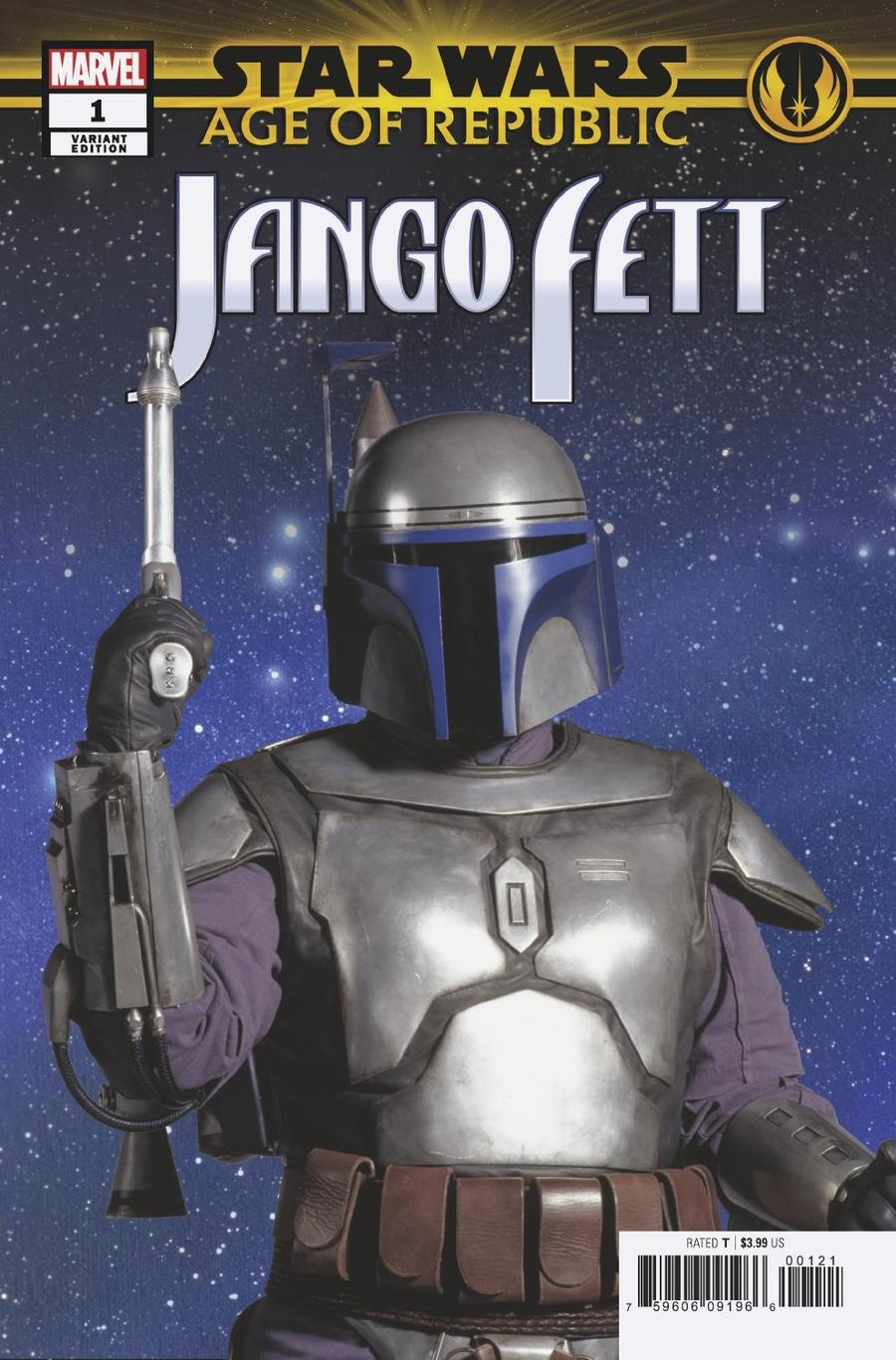 Star Wars Age Of Republic Jango Fett #1 Cover F Incentive Movie Variant Cover