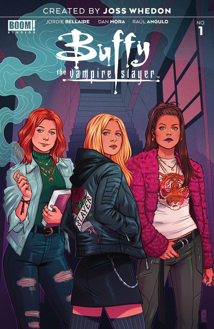 Buffy The Vampire Slayer Vol 2 #1 Cover G Incentive Jen Bartel Color Variant Cover