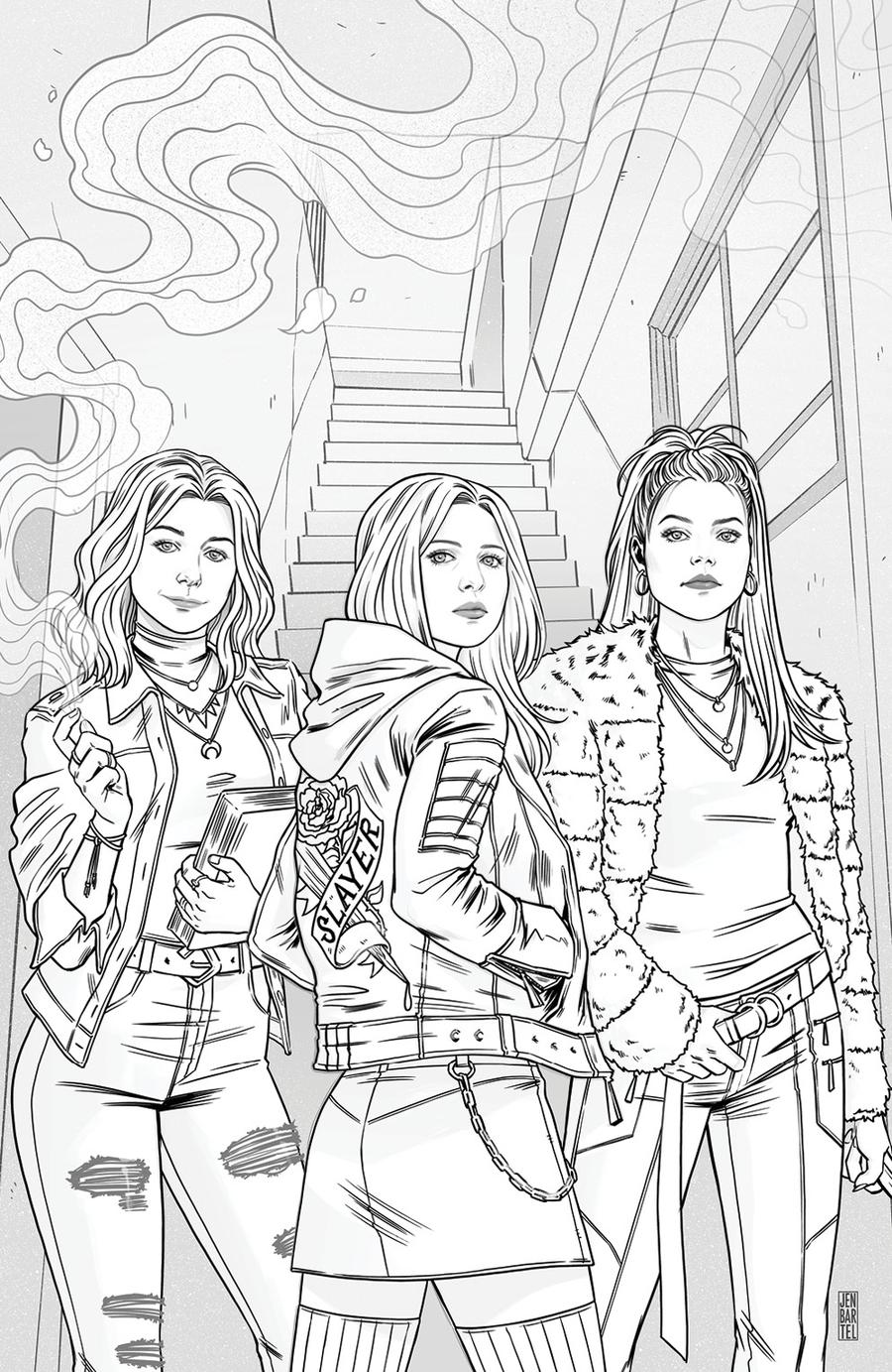Buffy The Vampire Slayer Vol 2 #1 Cover J Incentive Jen Bartel Virgin Sketch Variant Cover